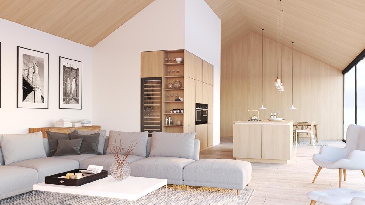Skandinavisch Wohnen bleibt einer der 5 besten Einrichtungstrends 2021