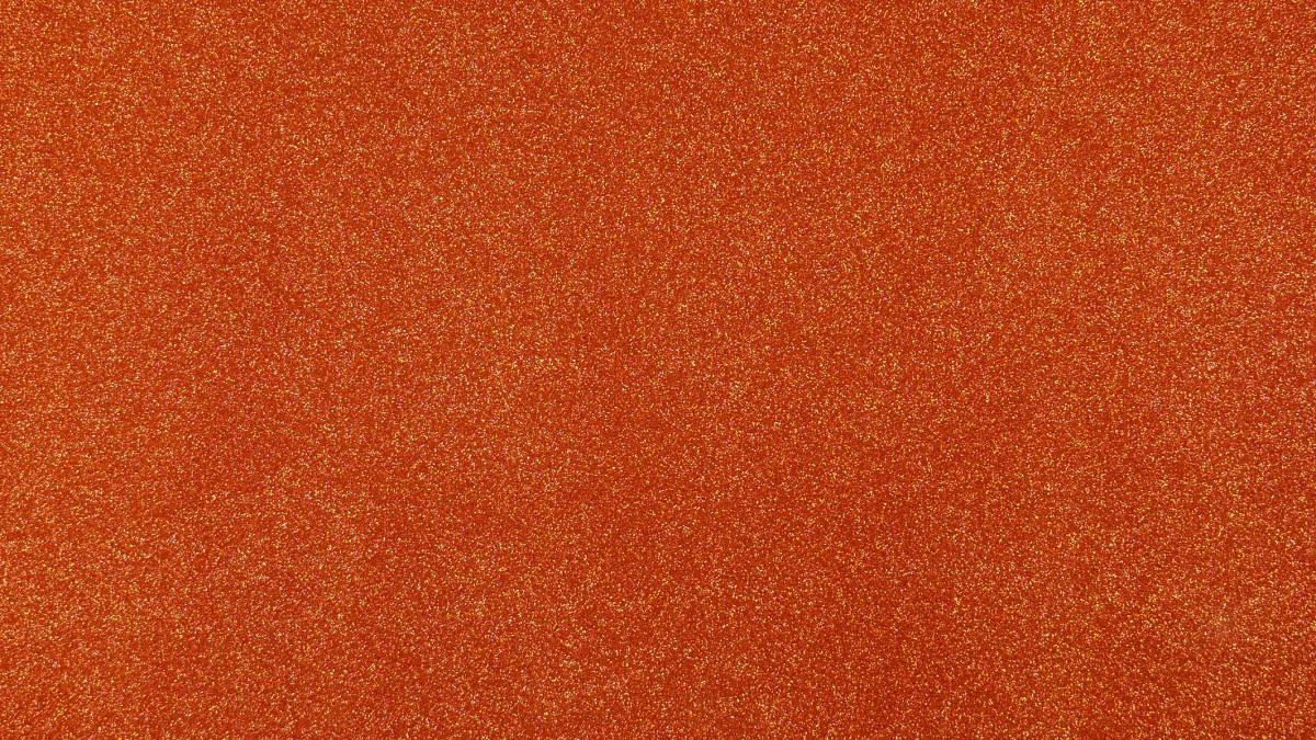 Glitzer orange