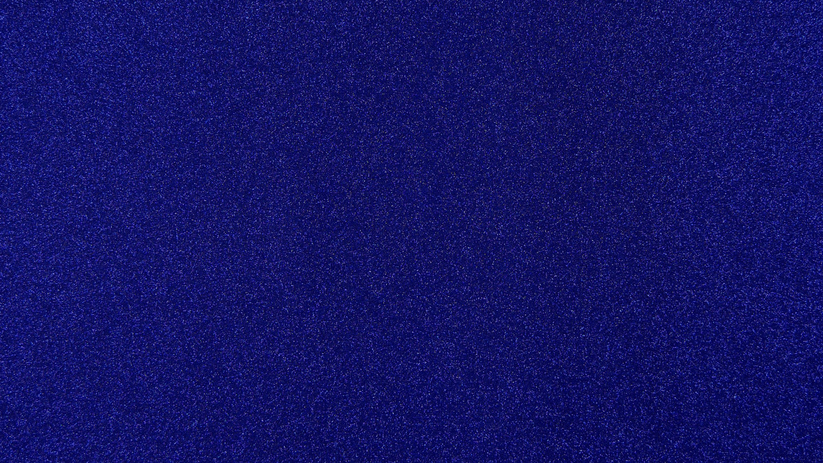 Glitzer blau
