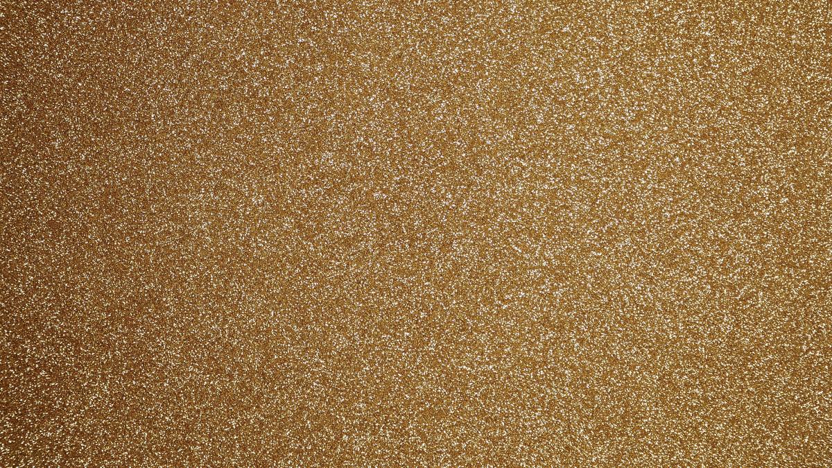 Glitzer goldschimmer