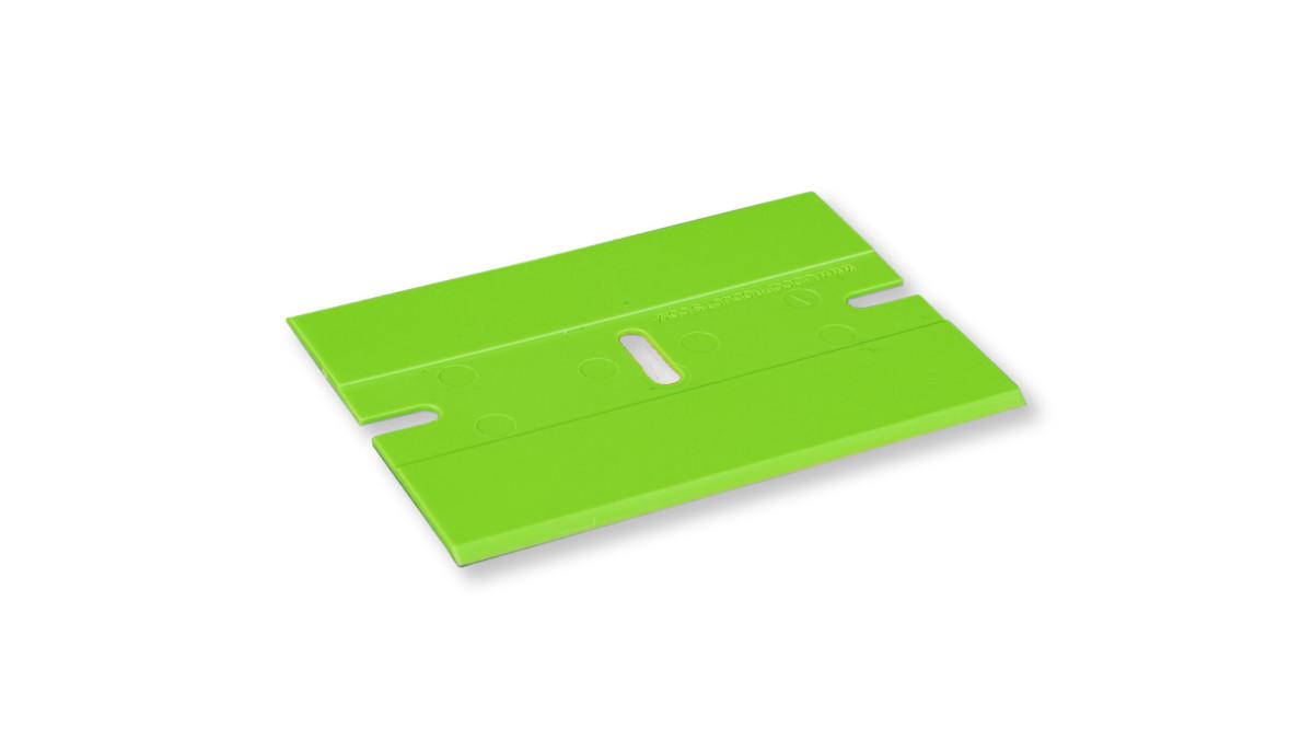 Kunststoffklinge grün